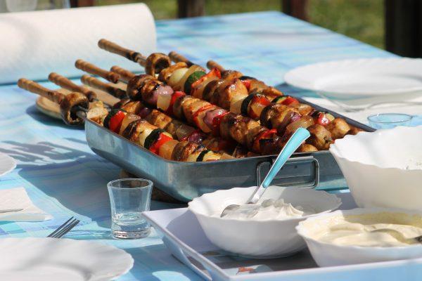 tips voor de thuisblijvers - tuinfeest - barbecue